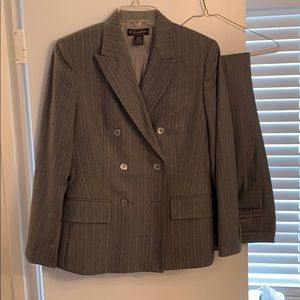 Italian wool brooks brothers pinstripe suit